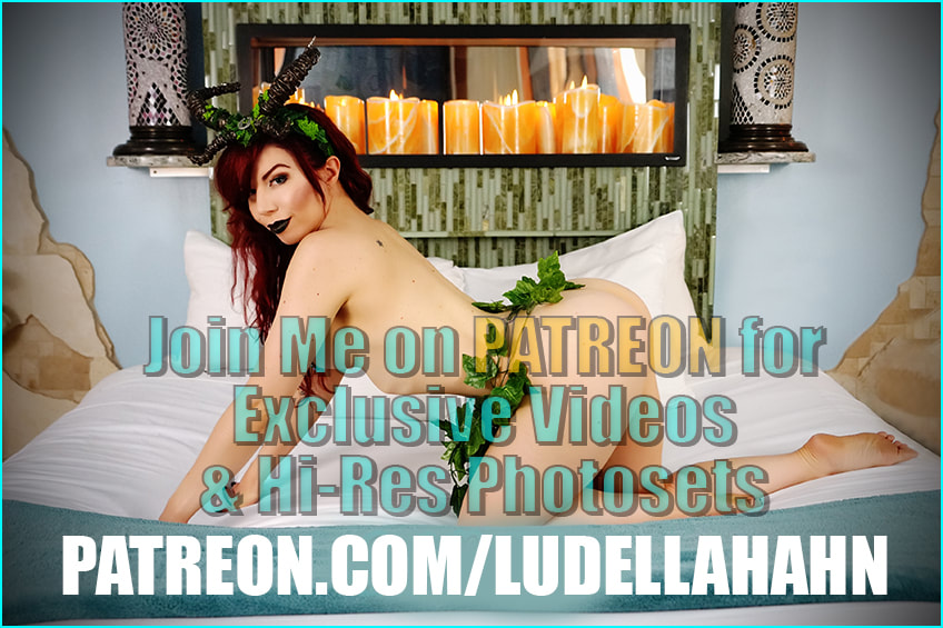 Ludella Hahn on Patreon - Sexy Cosplayer and Pinup